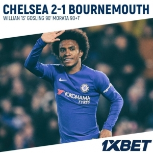 Video: Chelsea 2 – 1 AFC Bournemouth [EFL Cup] Highlights 2017/18